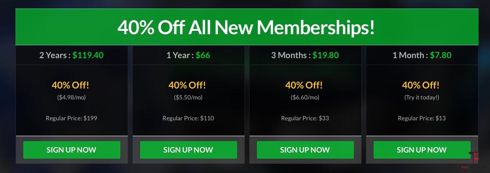 Ceny iRacing dla nowych graczy.