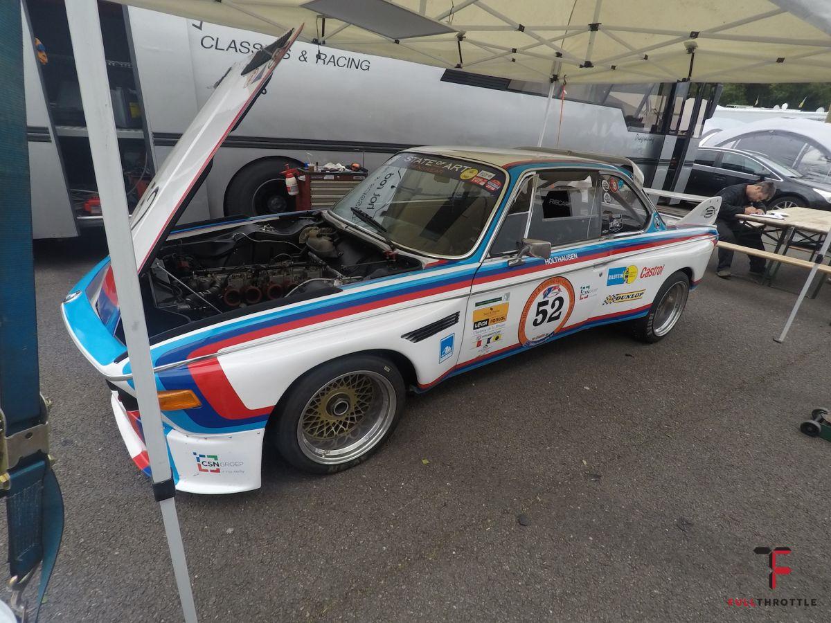 BMW, które cudownie darło się na torze Spa.