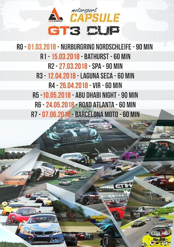 Kalendarz startów ACLeague X