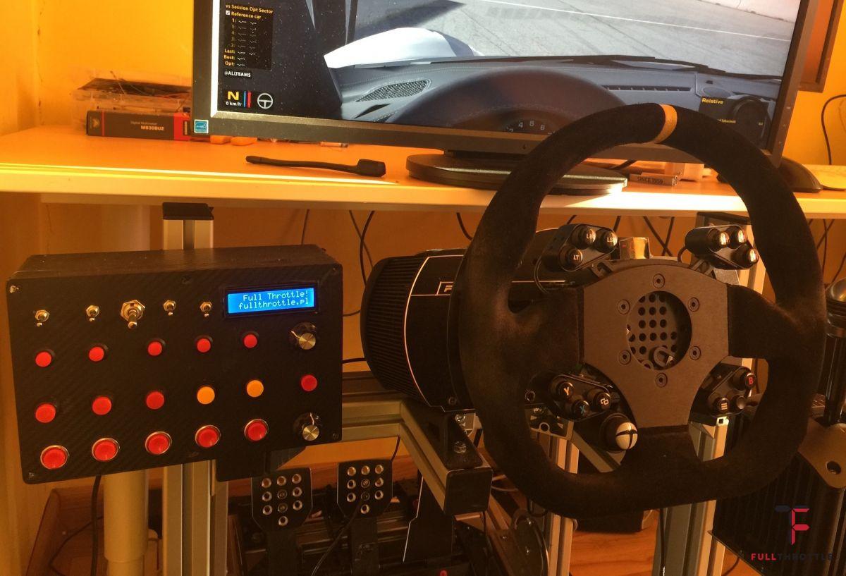 Jak zrobić swój simracingowy button box | Full Throttle
