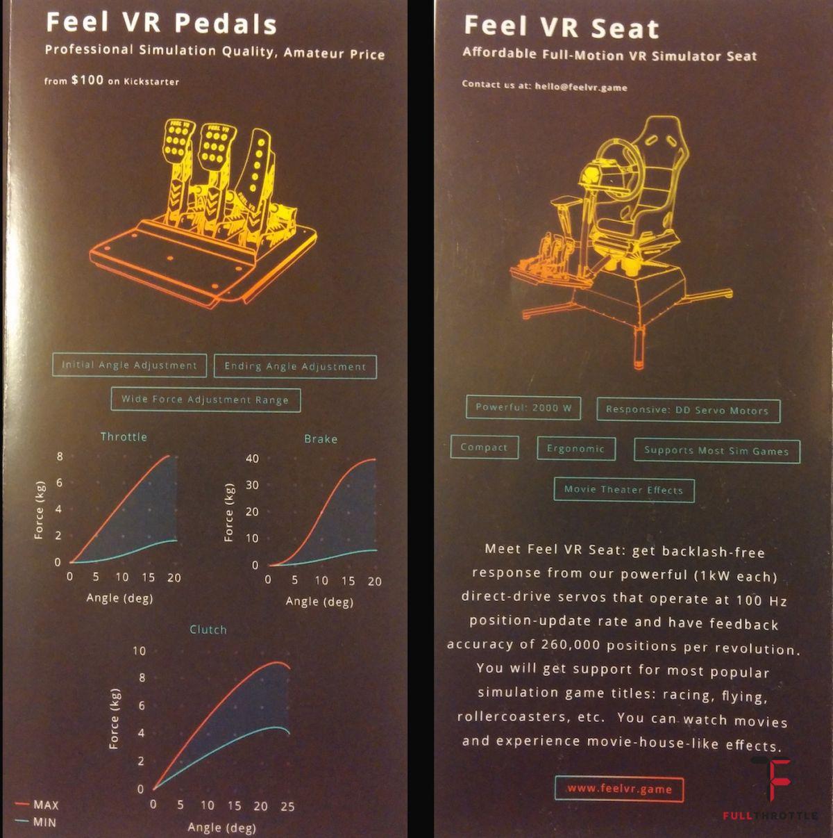 Specyfikacja pedałów i niedostepnego w przedsprzedaży fotlea. Zdjęcia ulotki dzięki irg-world.com