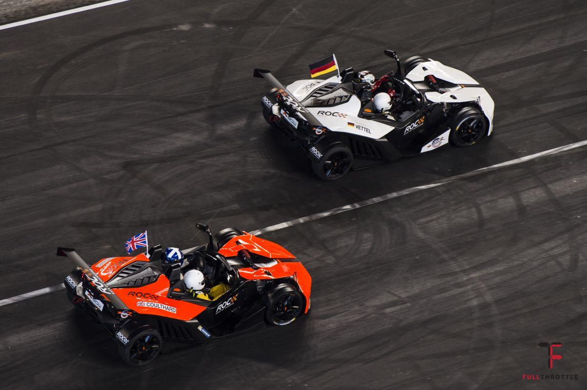 Przejazd KTM X-Bow w 2017, źródło: raceofchampions.com