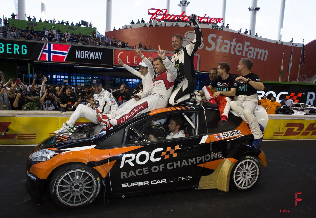 Jak widać na ROC panuje świetna atmosfera, źródło: raceofchampions.com