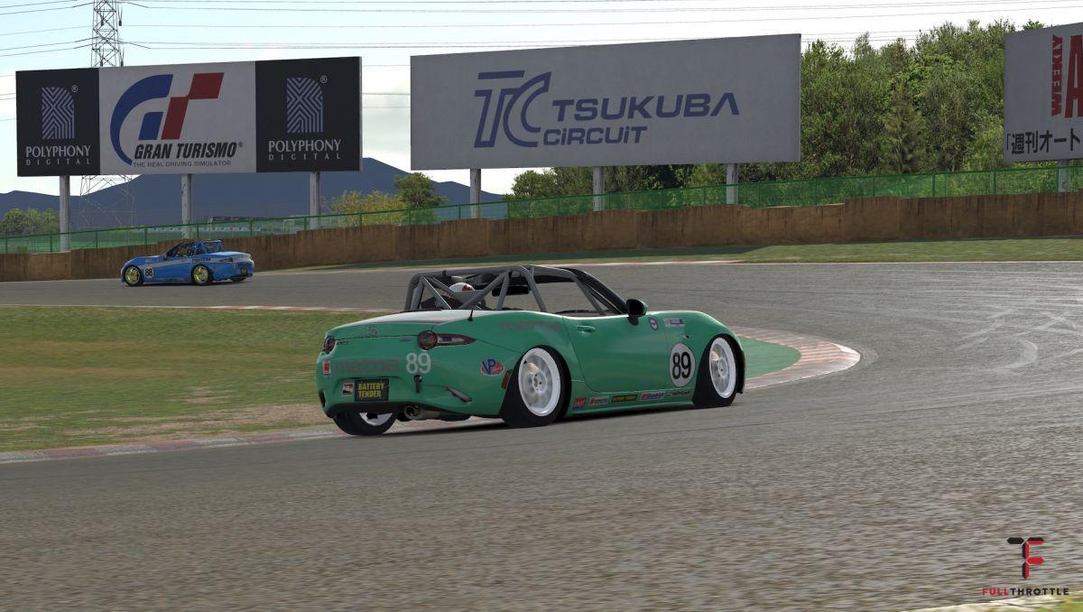 iRacing Tsukuba Mazda MX5