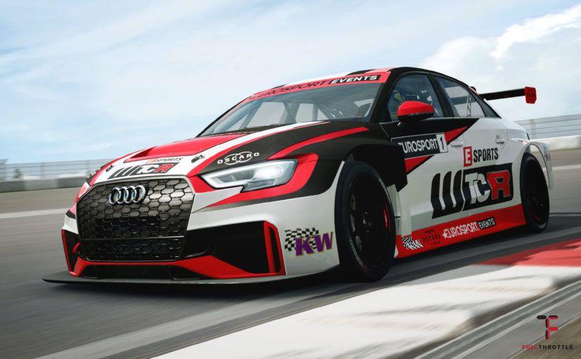 Tak wygląda Audi RS3 TCR ze środka.