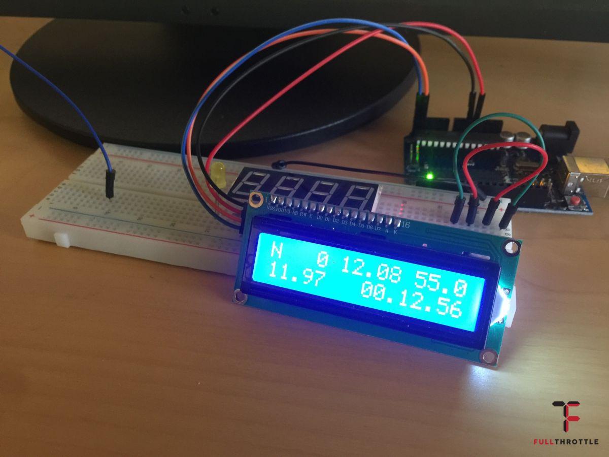 To co pokazuje się na ekranie LCD można dowolnie edytować