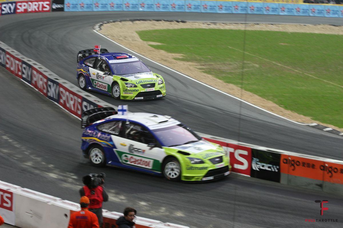 Grönholm and H. Solberg - 2007 Race of Champions, źródło: wikimedia.org