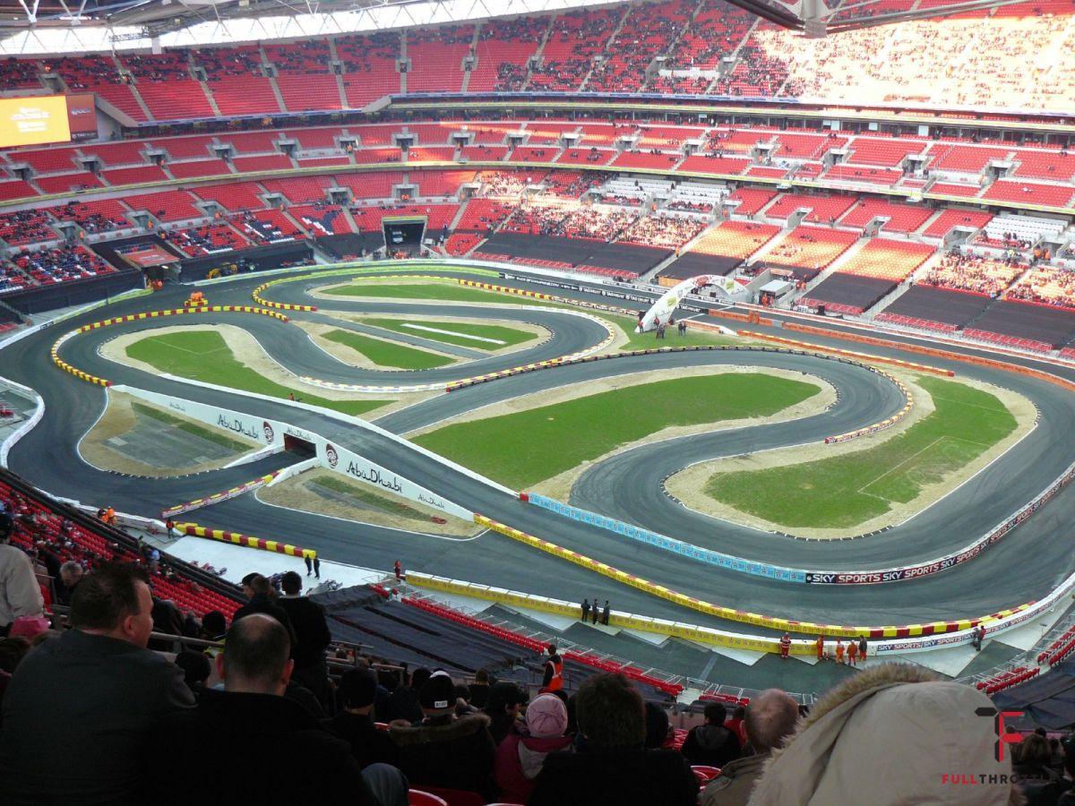 Tor Race of Champions z 2007, Wembley Stadium, źródło: wikimedia.org