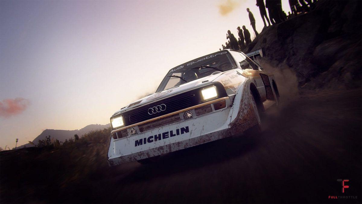 Klasyczne rajdowe Audi w DiRT Rally 2.0